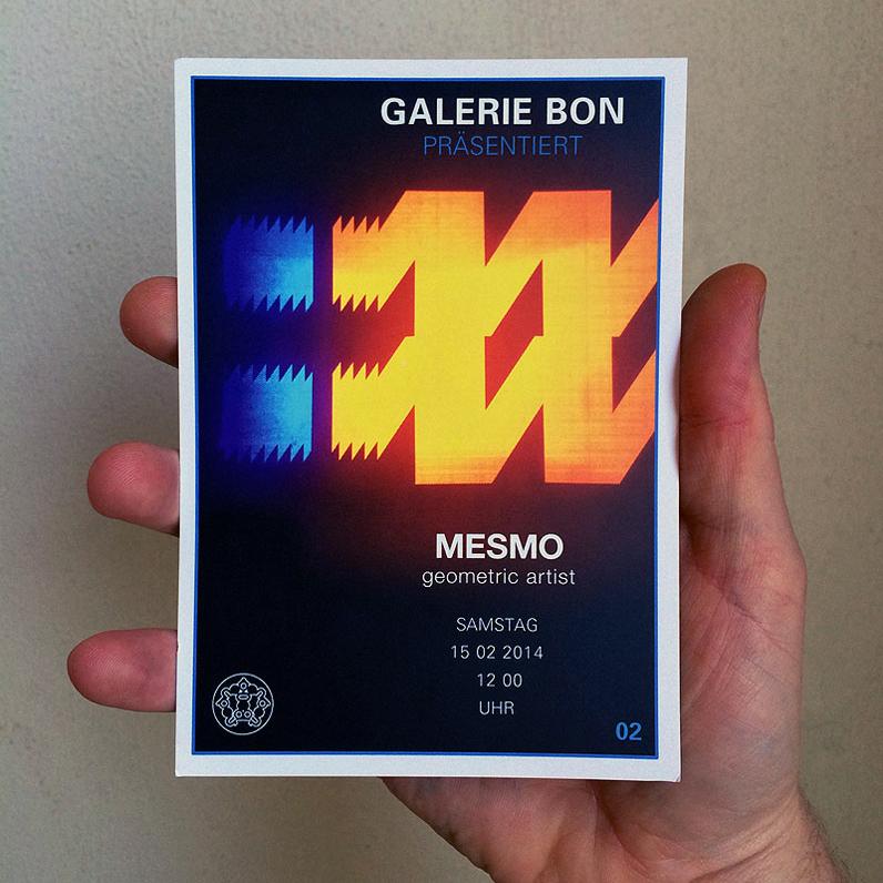 MESMO x Galerie Bon (DE)