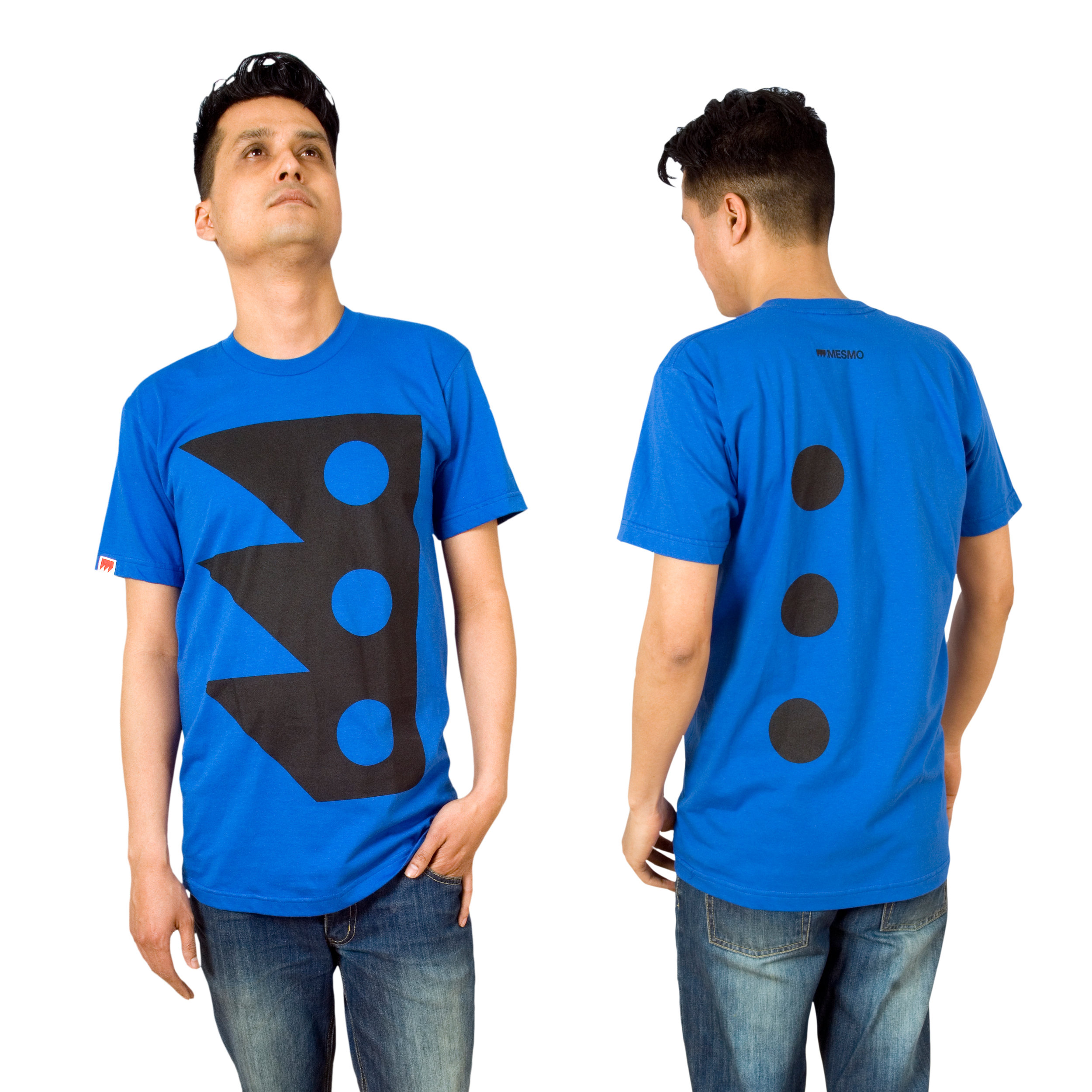 MESMO - Punch T-shirt (blue)