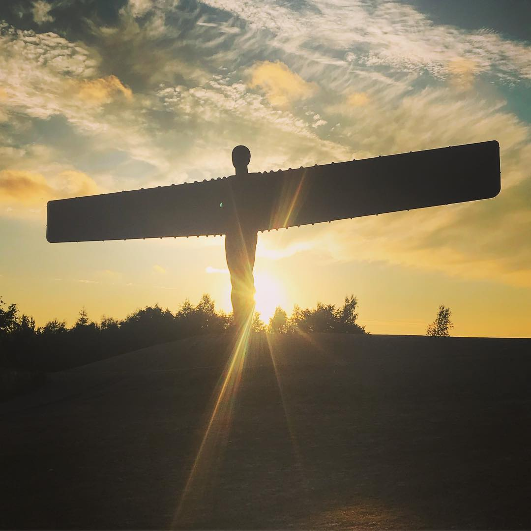 Angel of The North - @kayleighshaww