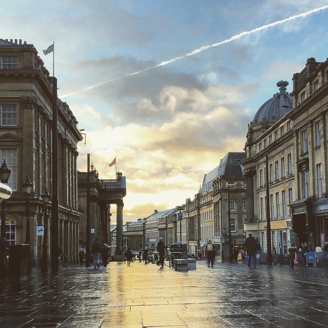 Newcastle - @srwpatterson