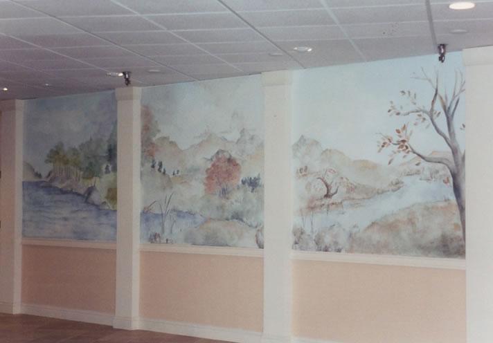 Village Mural Detail