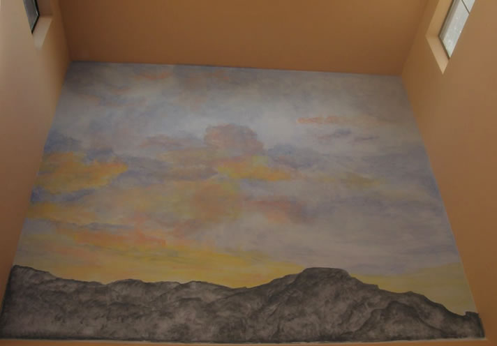 Albuquerque Sunrise 9' x 15'