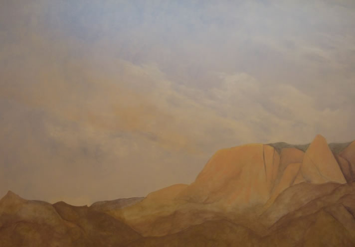 Albuquerque Sunset 9' x 15'