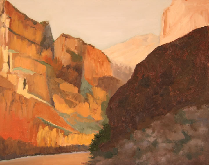 "Grand Canyon II Oil 16"" x 20"""