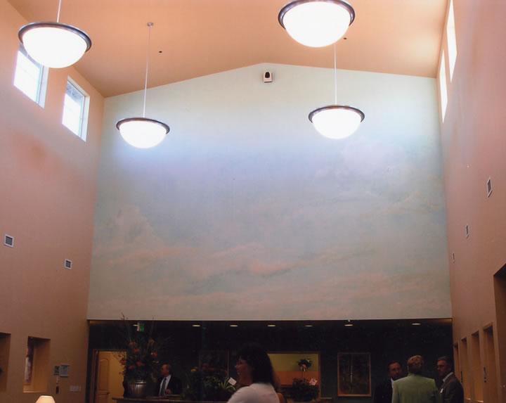 Meridian Clouds 15' x 21' Mural