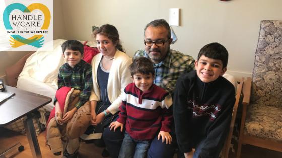 The Malek children visit Baher