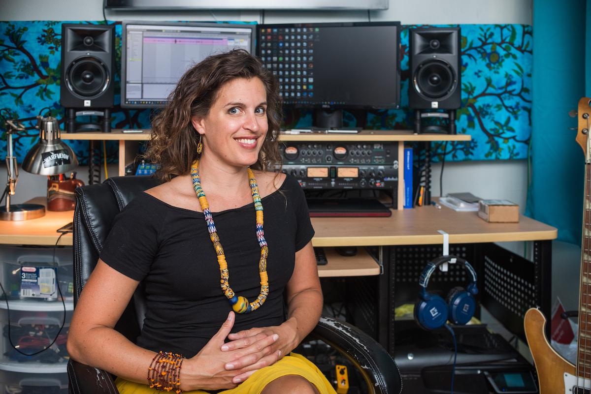 Liesel Mertes at Village Recording Studios