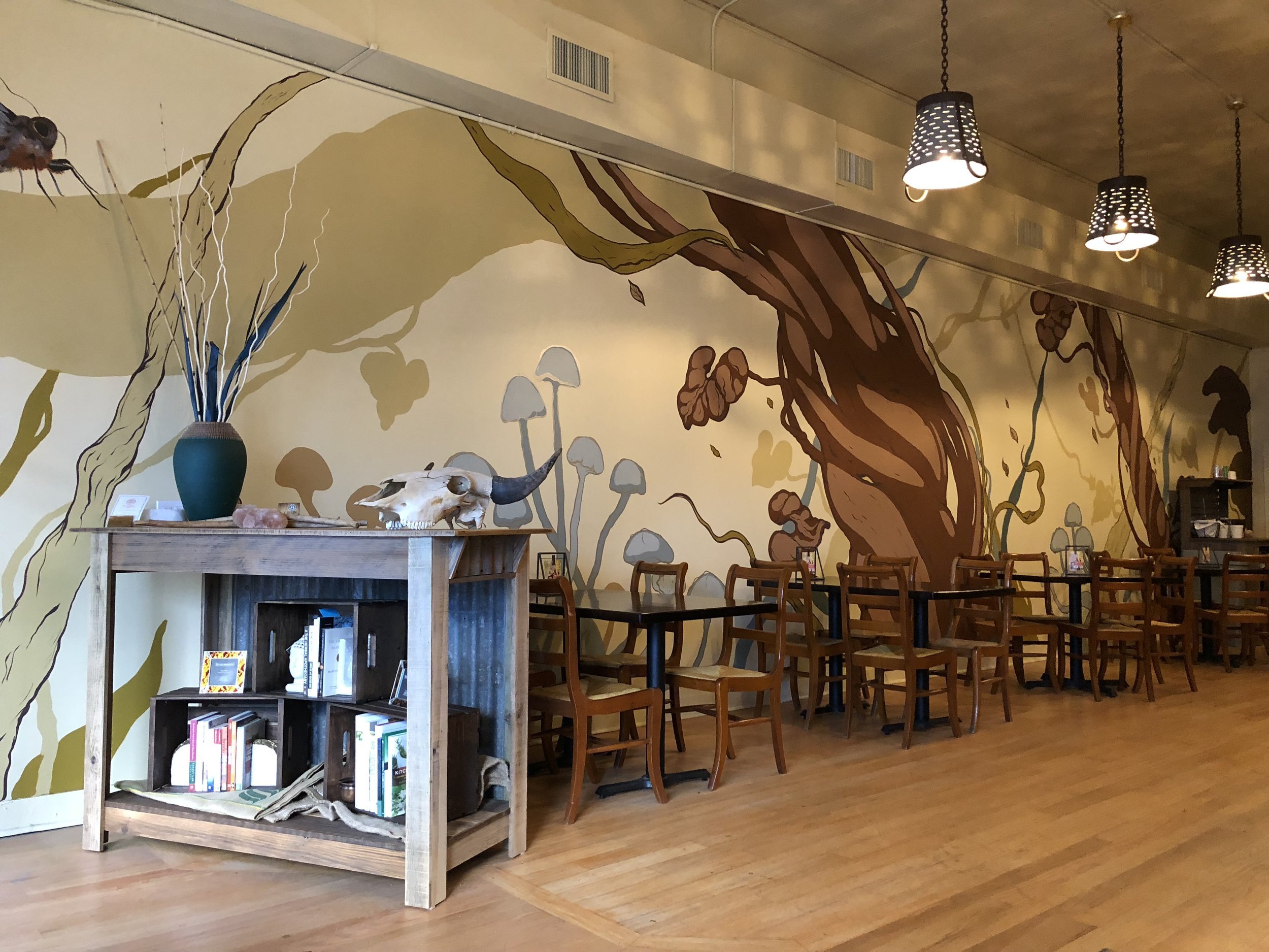 Backbone Cafe Interior