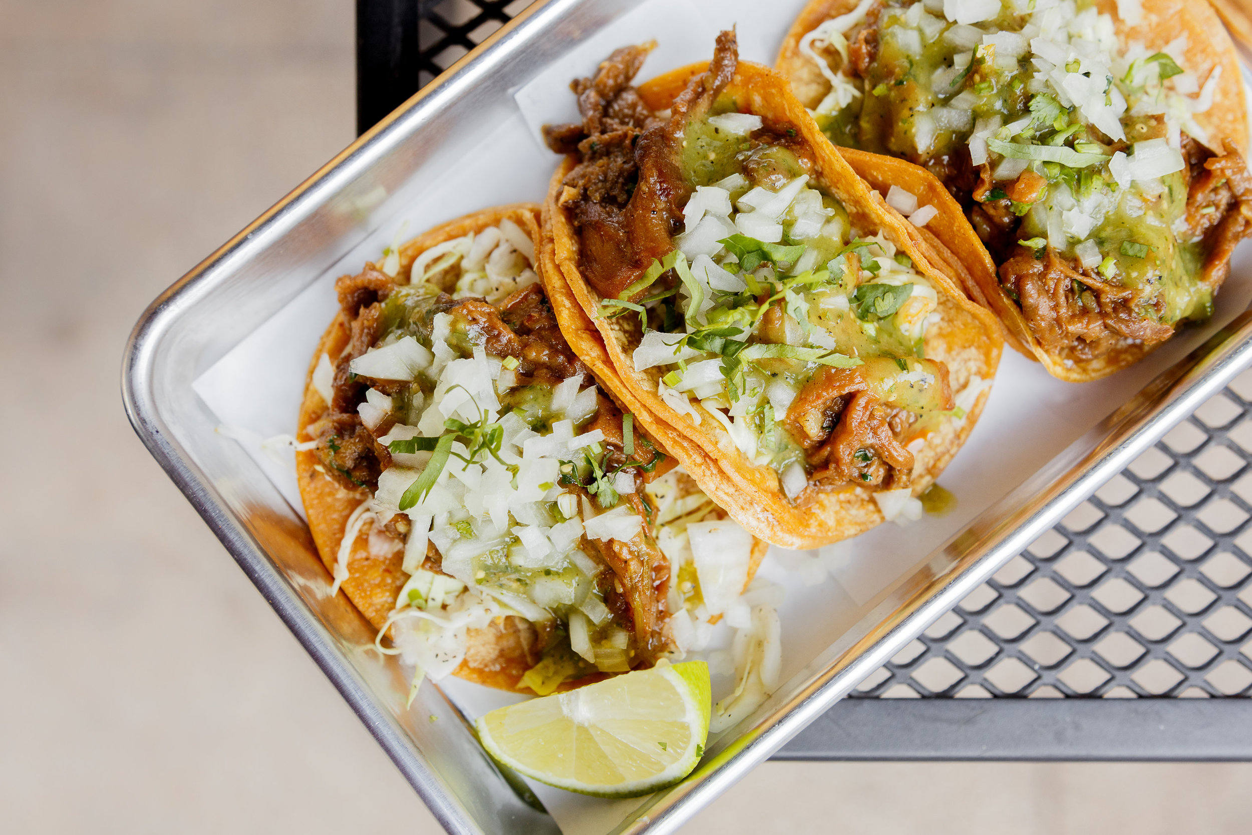 Verde Beef Tacos