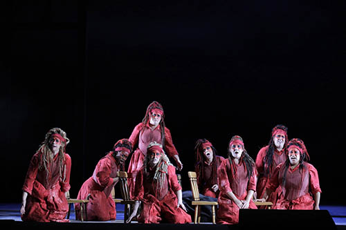 Rossweisse,  Die Walküre  Lyric Opera of Chicago 2017 Photo: Cory Weaver