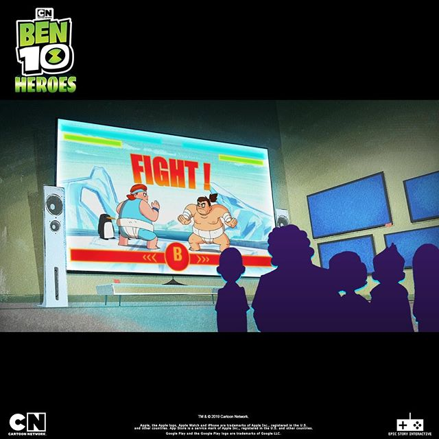 #ThrowbackThursday :When Ben went from winning big ON a Sumo Slammers video game to being IN one in Ben 10 Heroes! #TBT #Ben10Heroes #Ben10 #CartoonNetwork