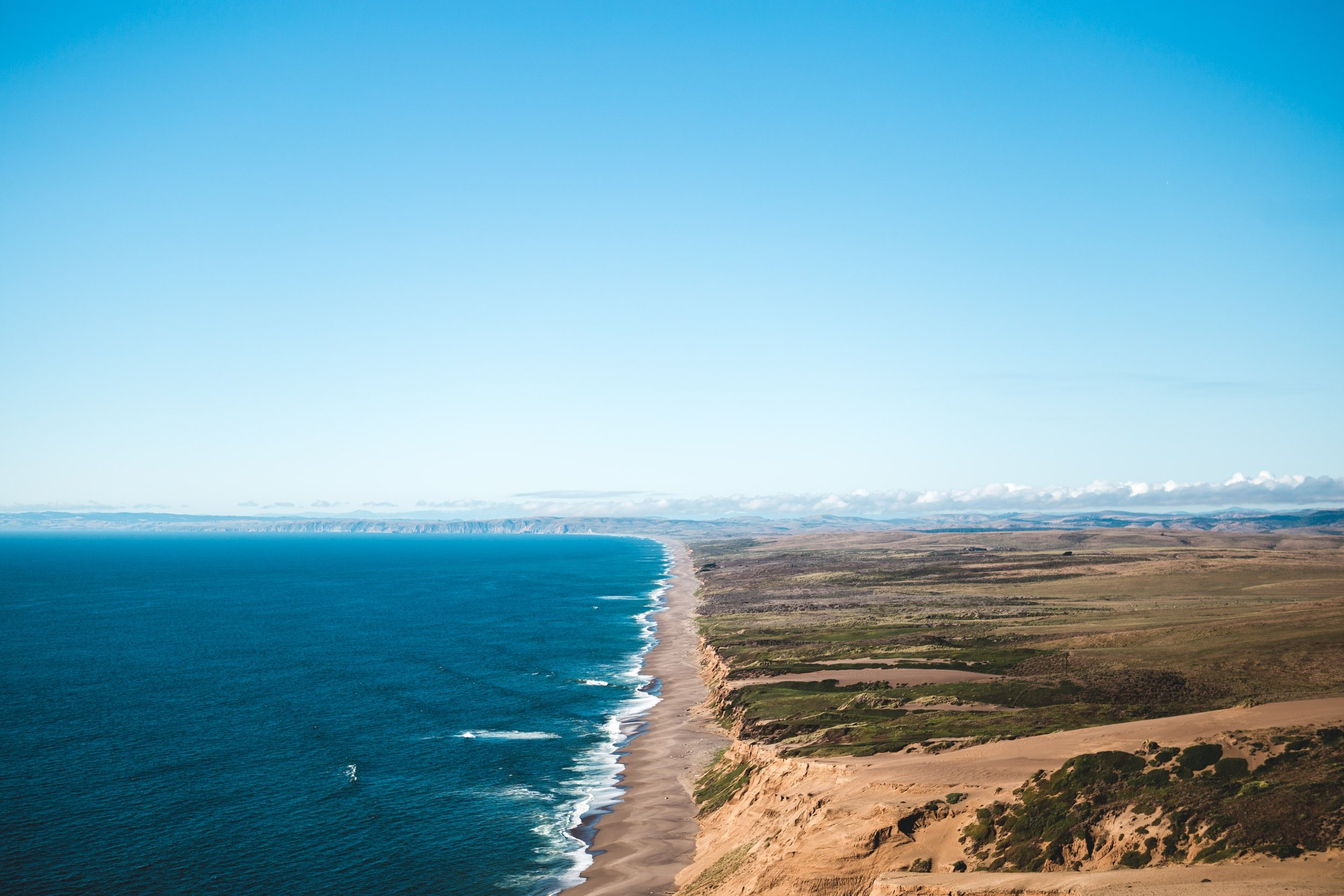 Abbots Lagoon leads to Great Beach. Photo by  Austin Schmid  on  Unsplash