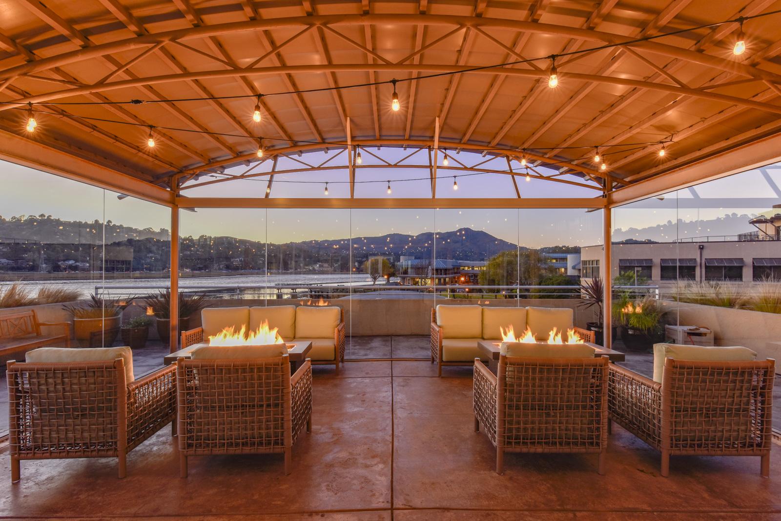 Acqua Hotel's Rooftop Atrium