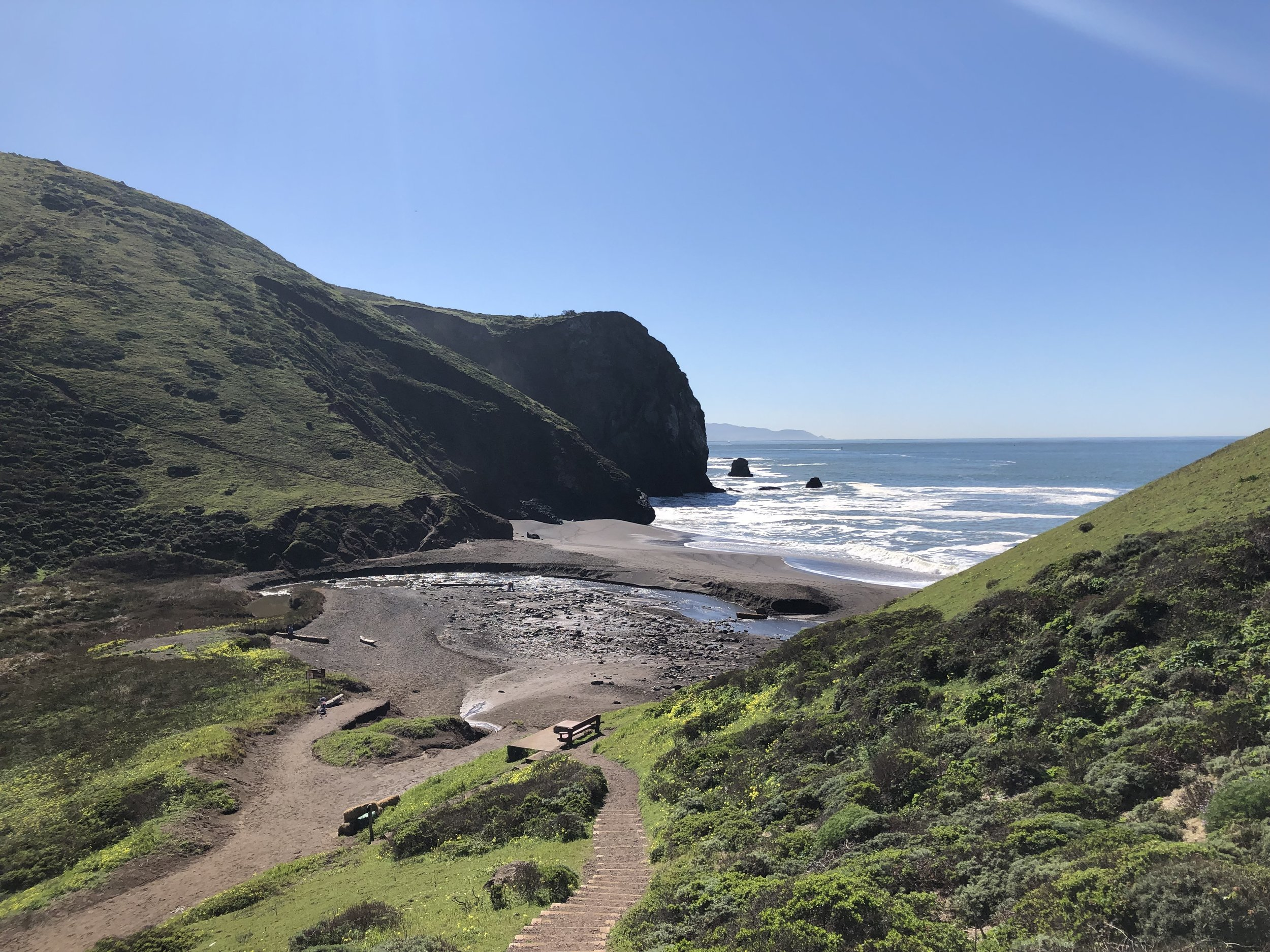 Tennessee Valley's pocket beach
