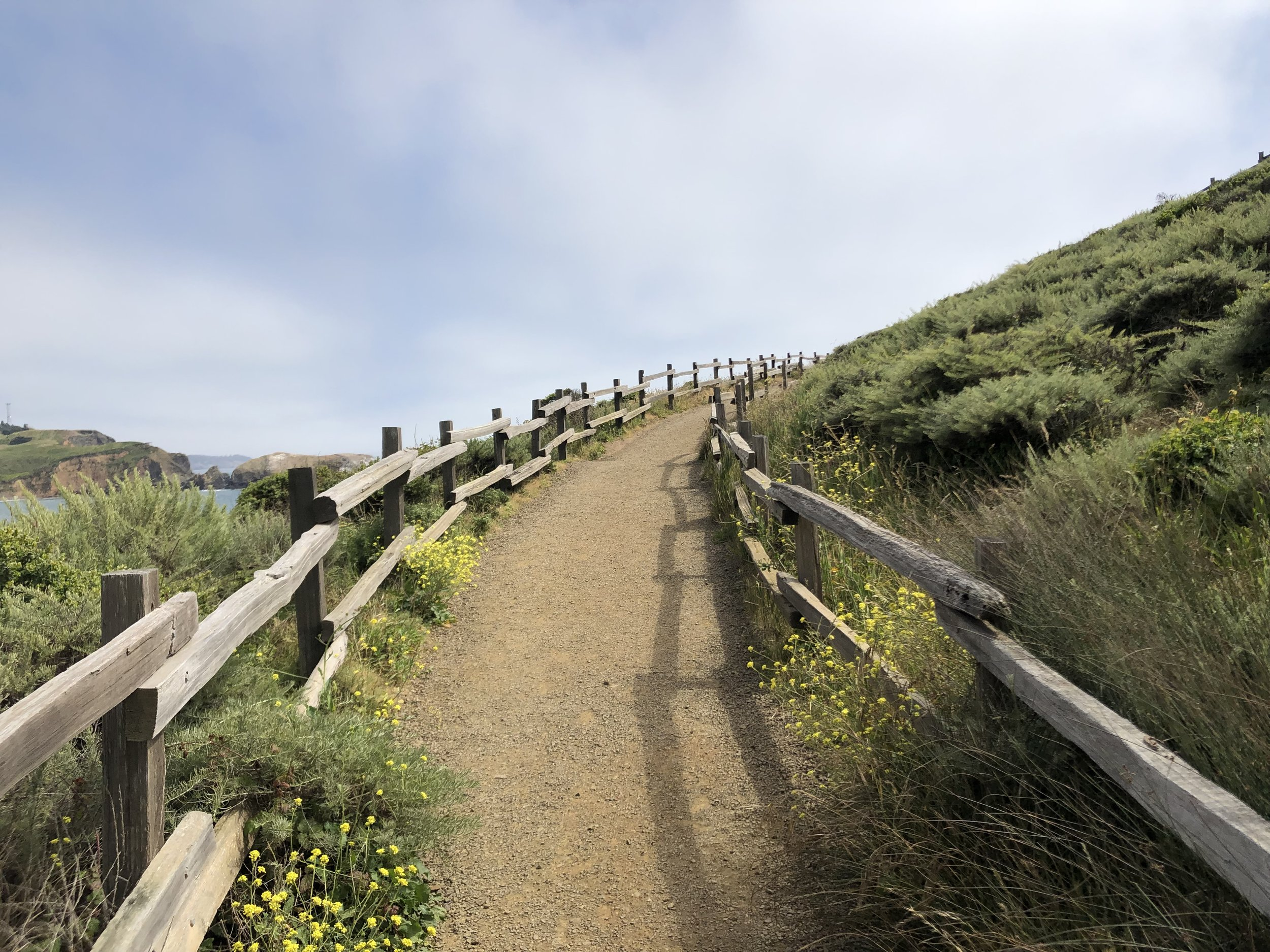 Get ready for some spectacular views on The Coastal Trail