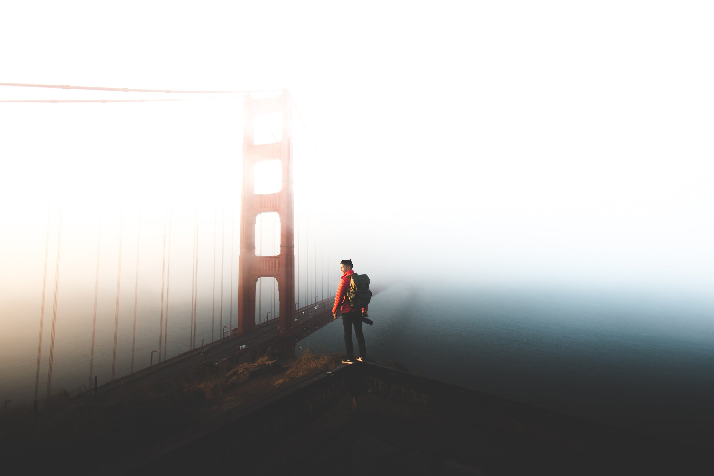 And the fog rolls in. It's our natural air conditioning! Photo by  Brian Chorski  on  Unsplash