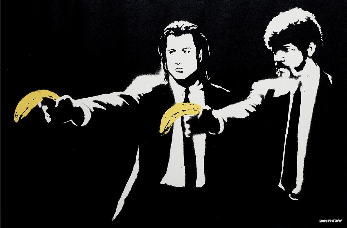 Banksy | Pulp Fiction - Unsigned, available now