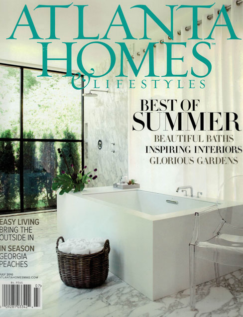 ATLANTA HOMES & LIFESTYLES, JULY 2010