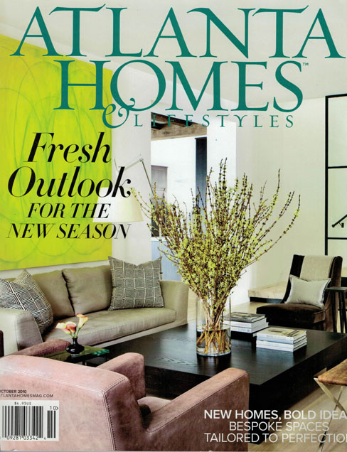 ATLANTA HOMES & LIFESTYLES, OCT. 2010