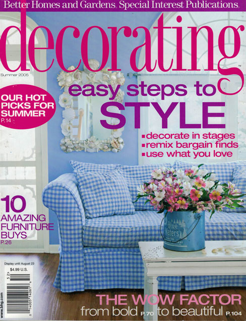 BETTER HOMES AND GARDENS, SUMMER 2005