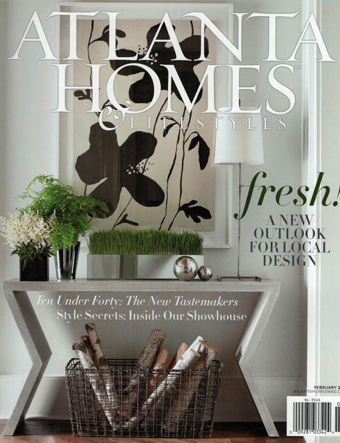ATLANTA HOMES & LIFESTYLES, FEB. 2013