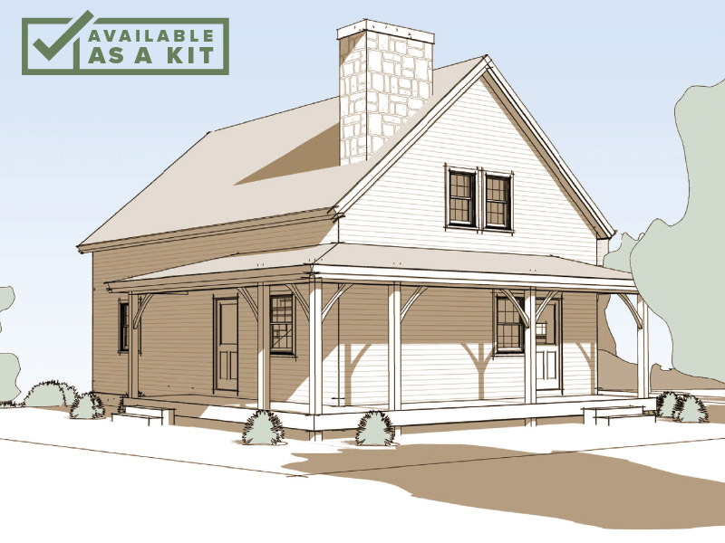 The Temple - 2-3 Bedrooms, 1 Bath, 1,260 sq ft(Footprint: 25' X 33')The Temple is all about easy living. Wrap The Temple in charm and fresh air with a farmer's porch, then just add your favorite rocking chairs and the morning coffee.Details