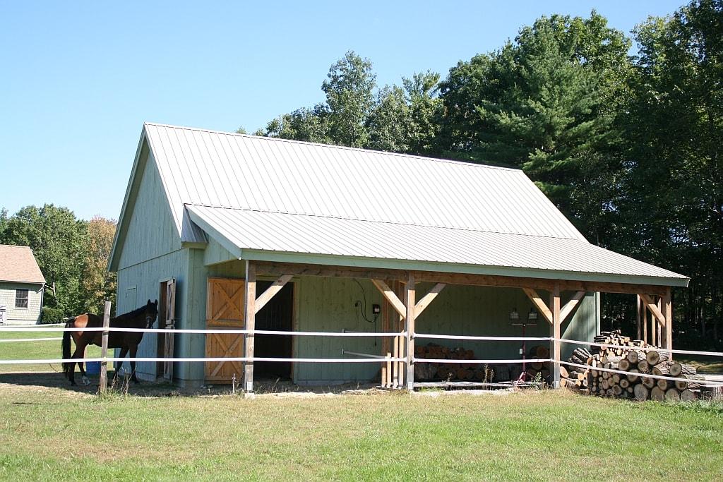 Paul Freeman - Reeve Barn w Shed.jpg