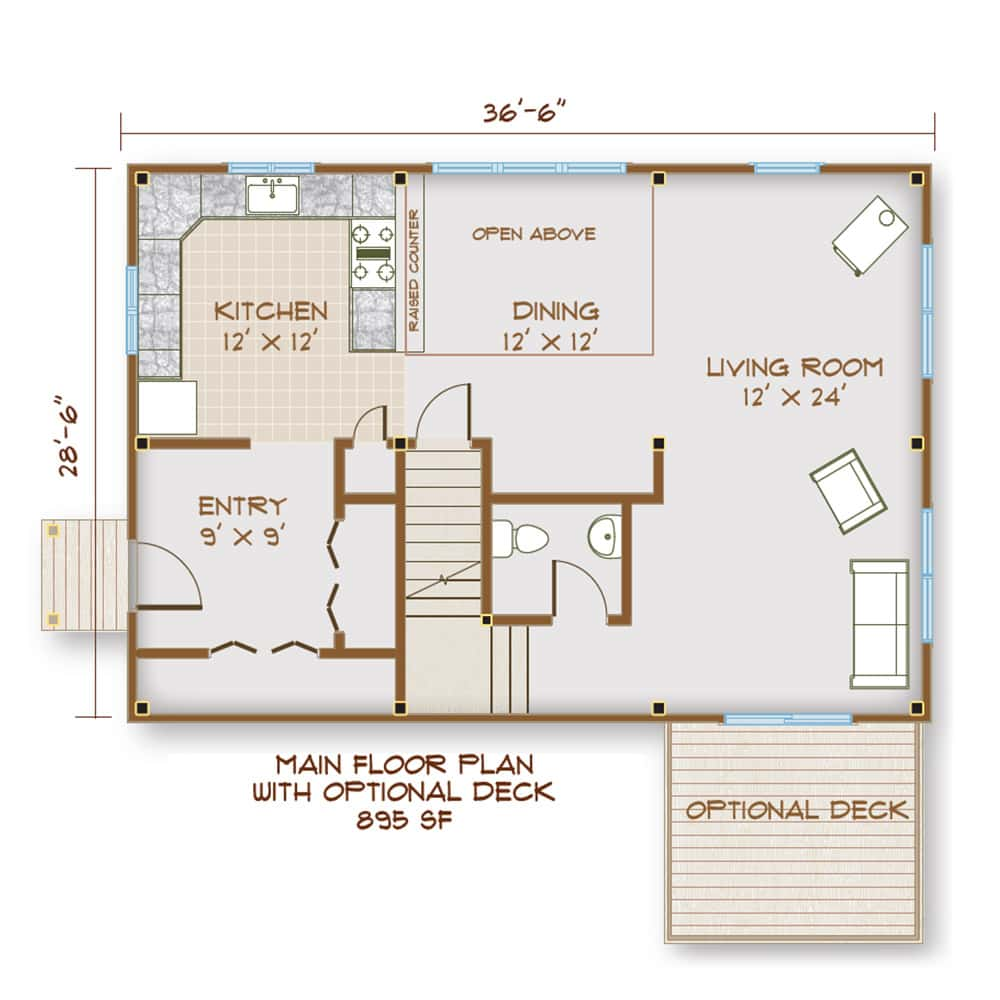 Main Floor Floorplan
