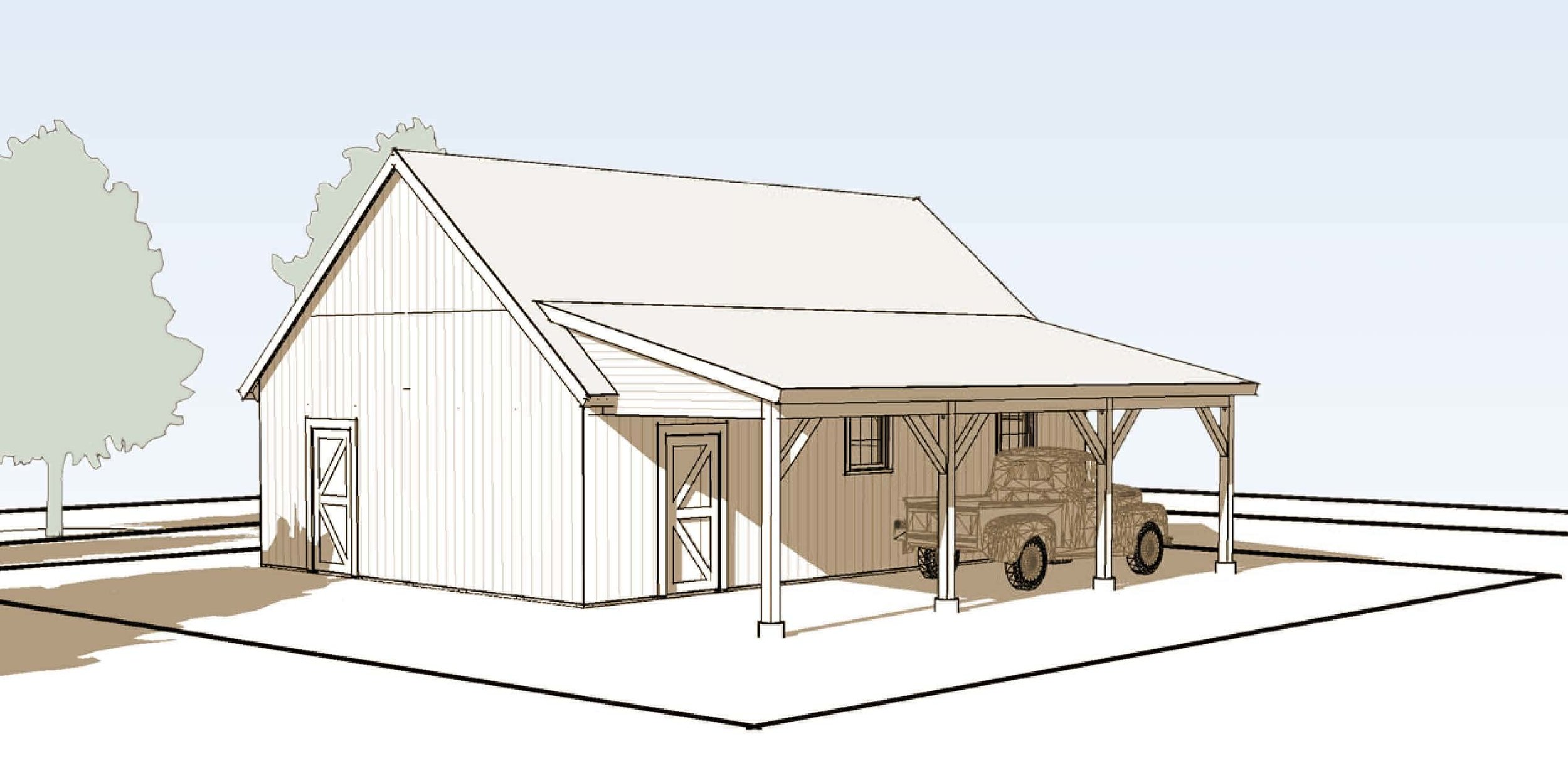 lincoln-timber-frame-garage-rear-right.jpg