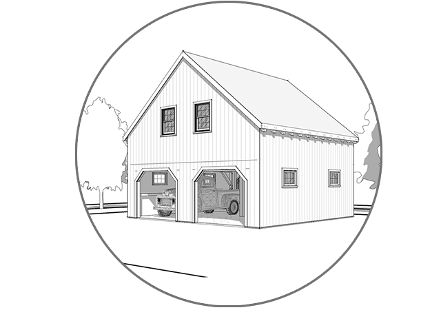 Barn & Garage Kit Pricing - Browse and compare pre-designed timber frame barns and garage kits.