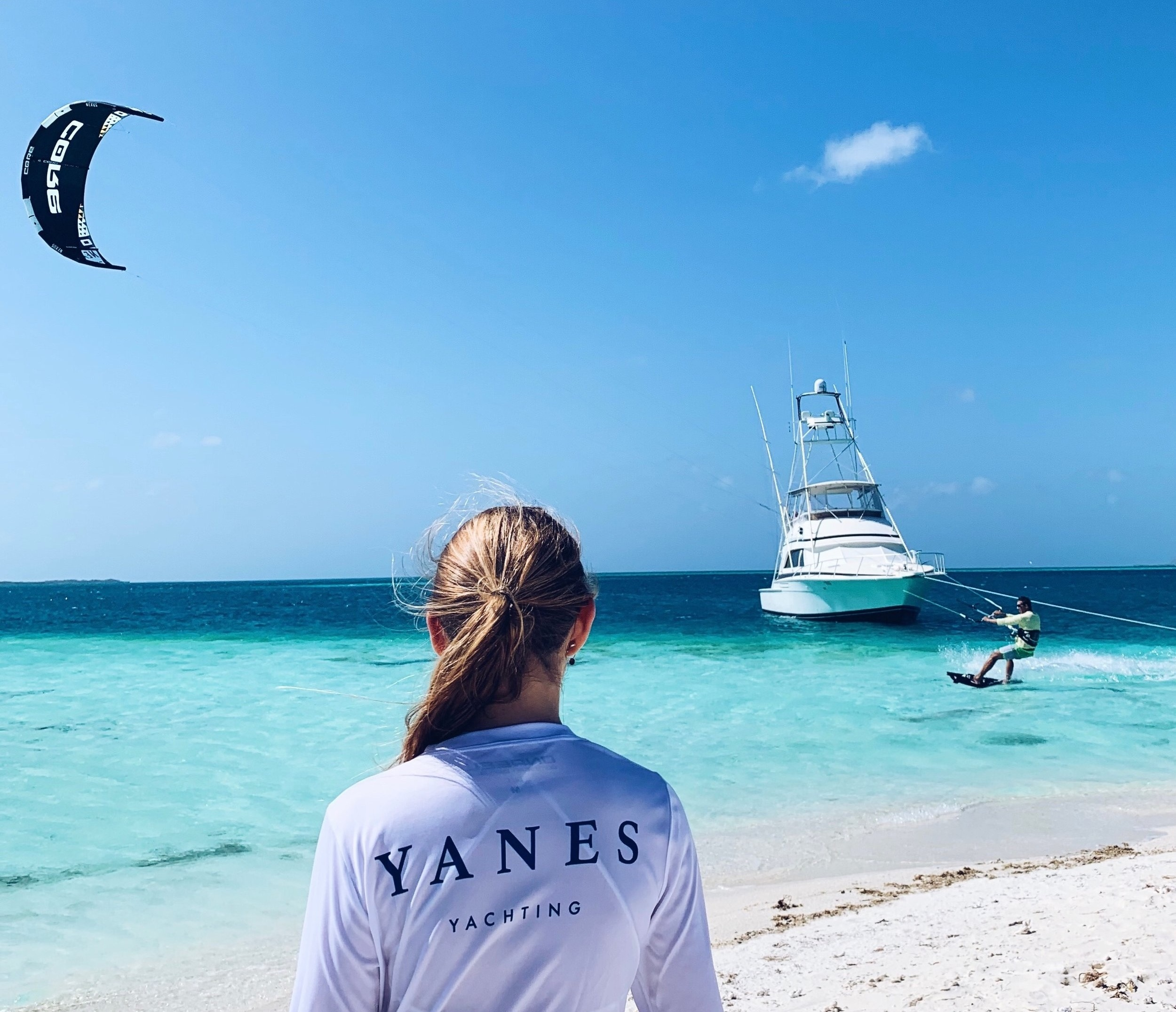 A SPACE TO DO WHAT YOU LOVE - When chartering with Yanes Yachting you will have the possibility to engage in the activities you love. We offer an array of possibilities from Fishing to Kitesurfing. Let us know what it is you need to make of your charter an ultimate experience.