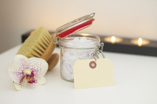 Chakra Cleansing salt scrubs -