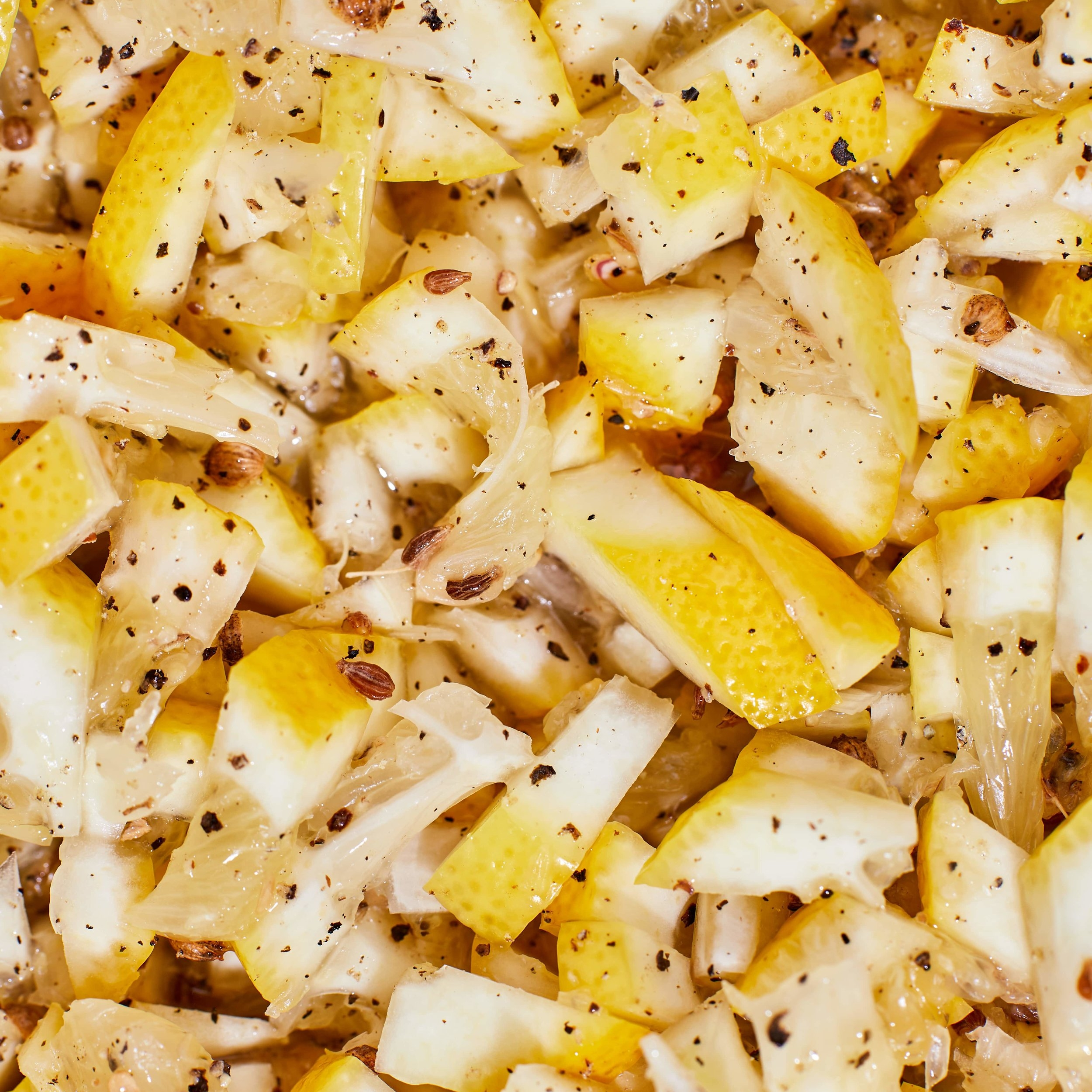 Quick Preserved Lemons -