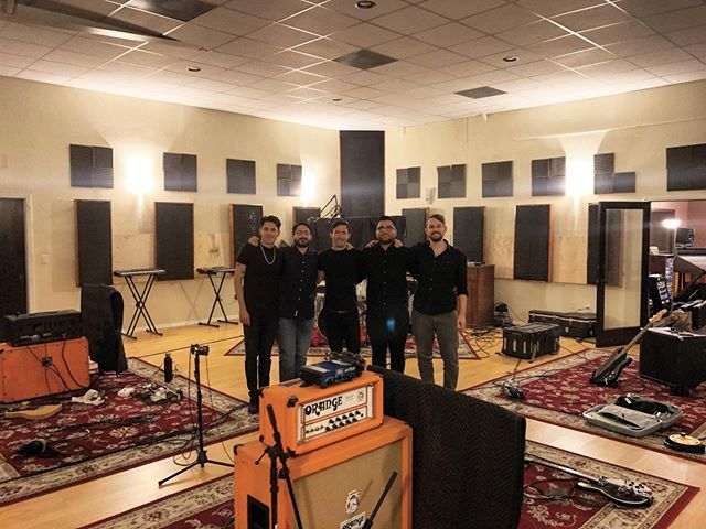 We're so happy to have been able to capture new songs, videos, and special moments at @creativecave_recording_studio. Collaborating with Adrian, @mannyrodriguez3 from @brndhub and @badofabio was awesome. We're excited to share these things with you in the future! Thanks for being an important part of our journey!