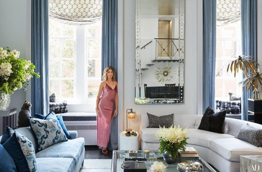 Carole Radziwill in Her Apartment (Architectural Digest, 2017)