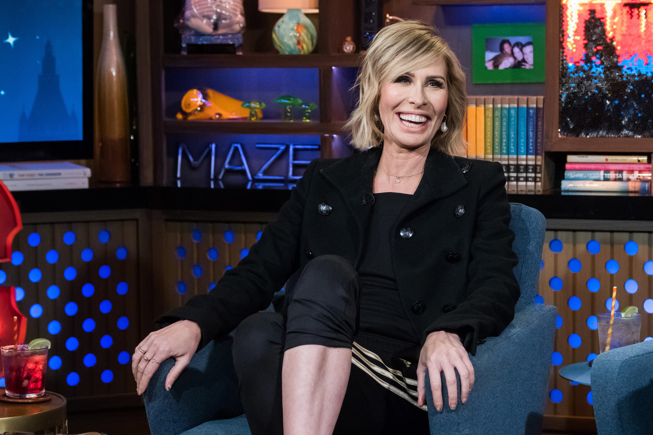 Carole on Watch What Happens Live with Andy Cohen