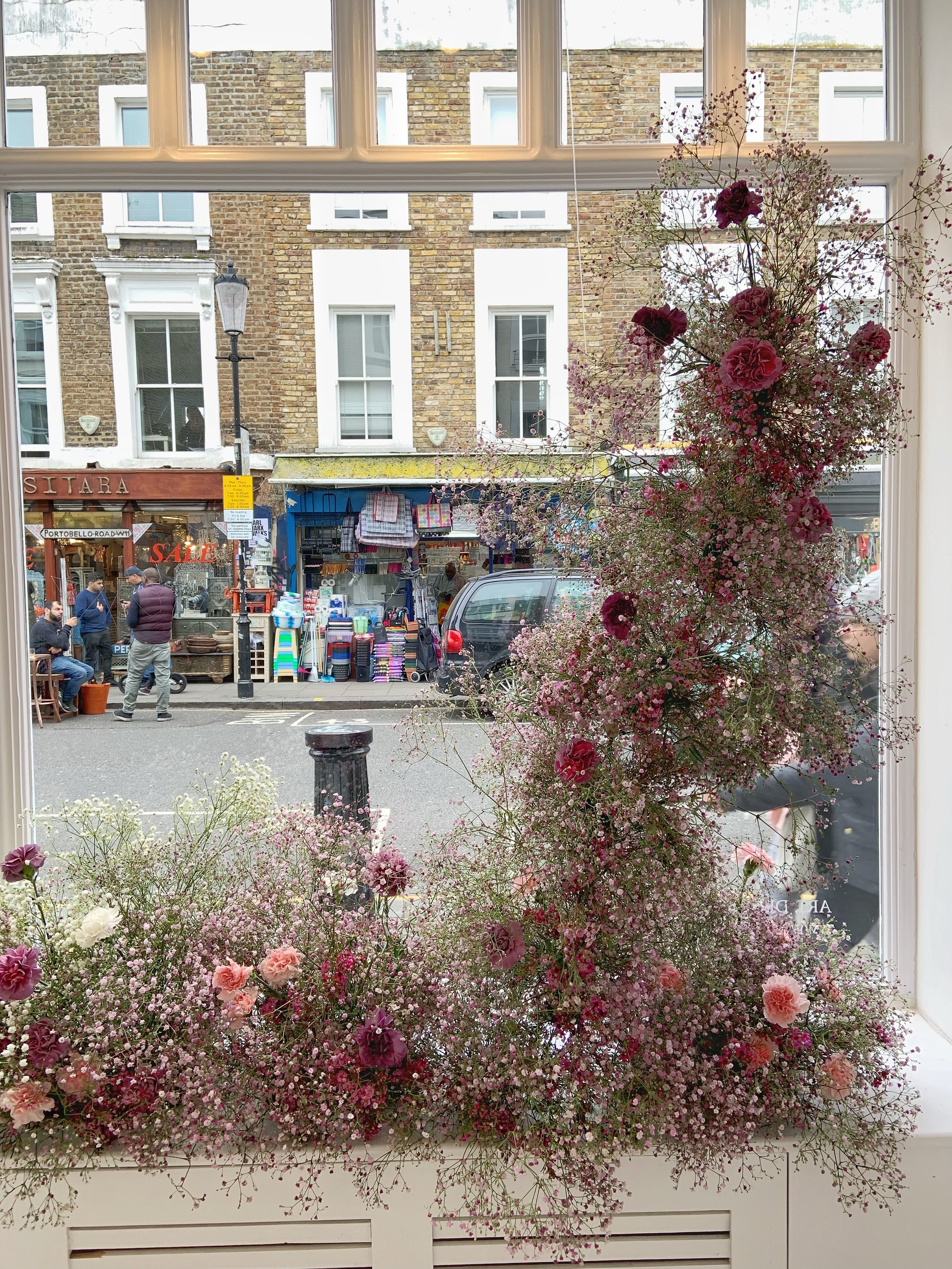 Blume Florist London Kent Wedding Bouquet Window Display