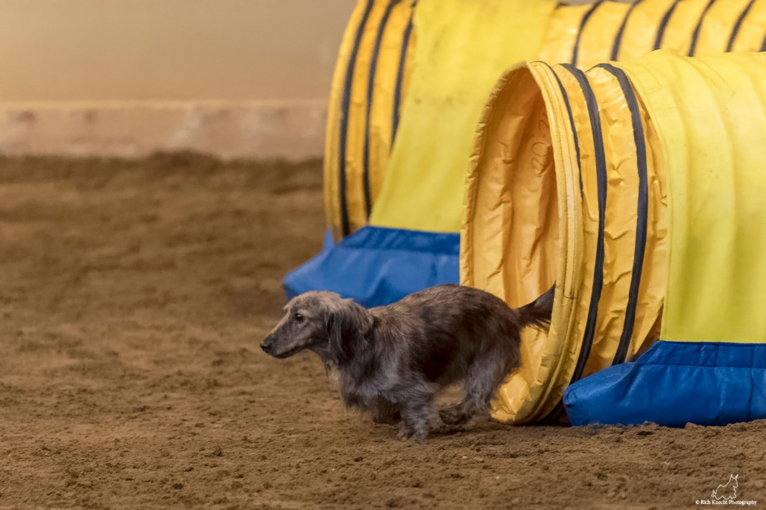 Boltzmann exiting the agility tunnel!