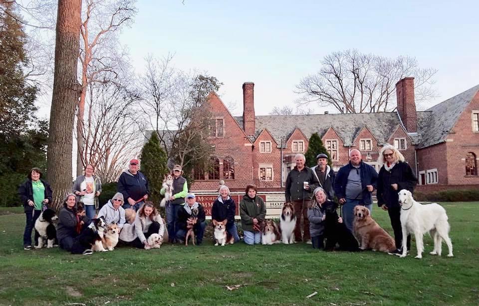2nd Fit Dog Club walk, April 3, 2019