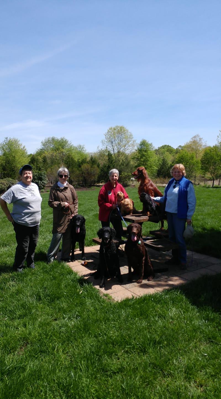 4th Fit Dog Club walk, April 29, 1029