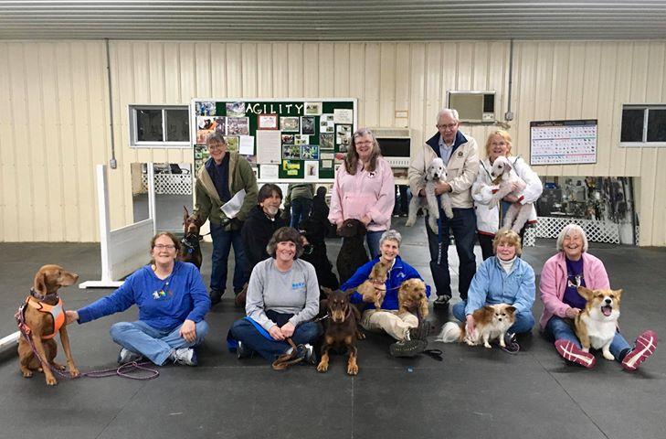 5th Fit Dog Club walk, May1, 2019