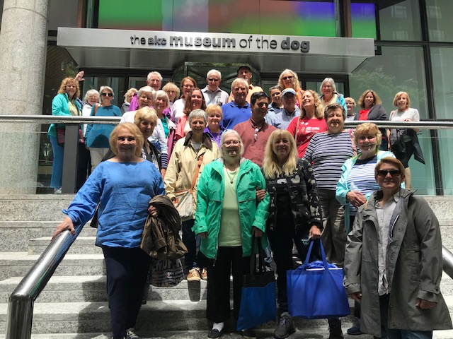 BCKC members took a trip to the AKC Museum of the Dog in NYC