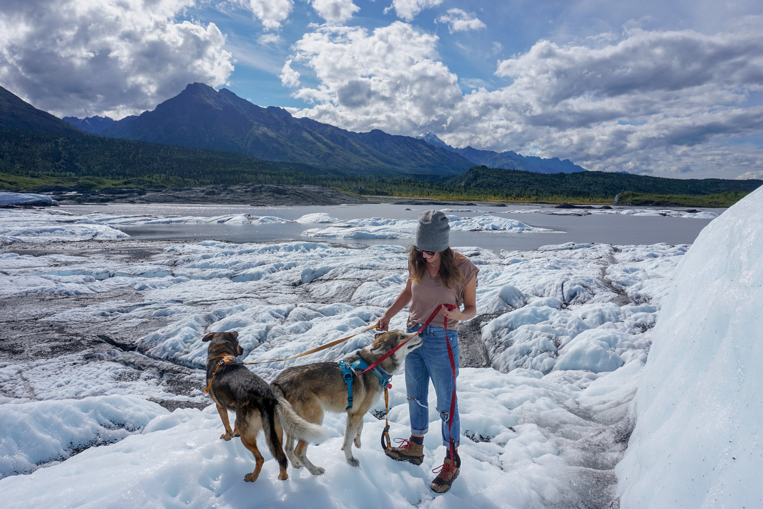 One of Kelsey, Osa, Jasper, and Ry's many stops along the Alaska Highway.