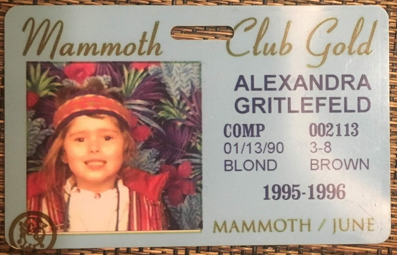 """Five-year-old me looked so fly on the slopes at 3'8"""". You best believe."""