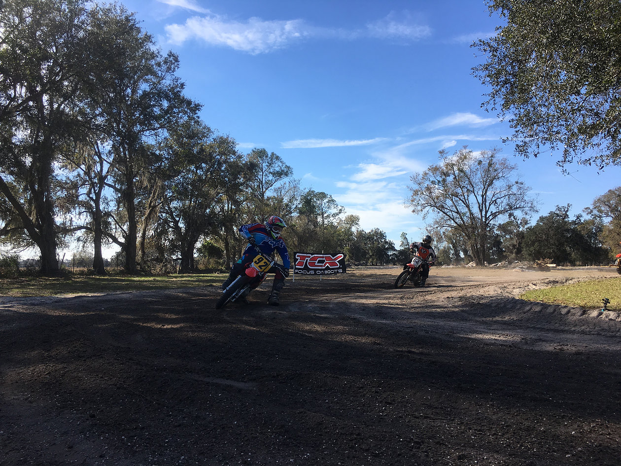 (Riders 2 and 3, brought their own gear, owns bikes, and different goals. Both over 50 years old, one a road racer and the other a long time flat tracker, both riders I worked with in the past multiple times, returning again to reach new levels and focus on better habits on and off the bike)