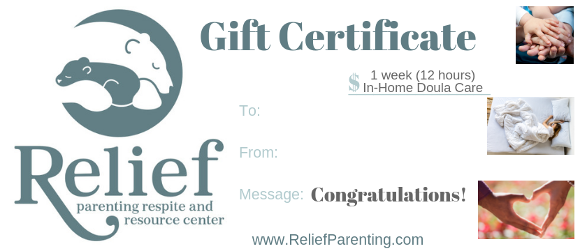 - Gift certificates can be customized & printed or downloaded for immediate use.