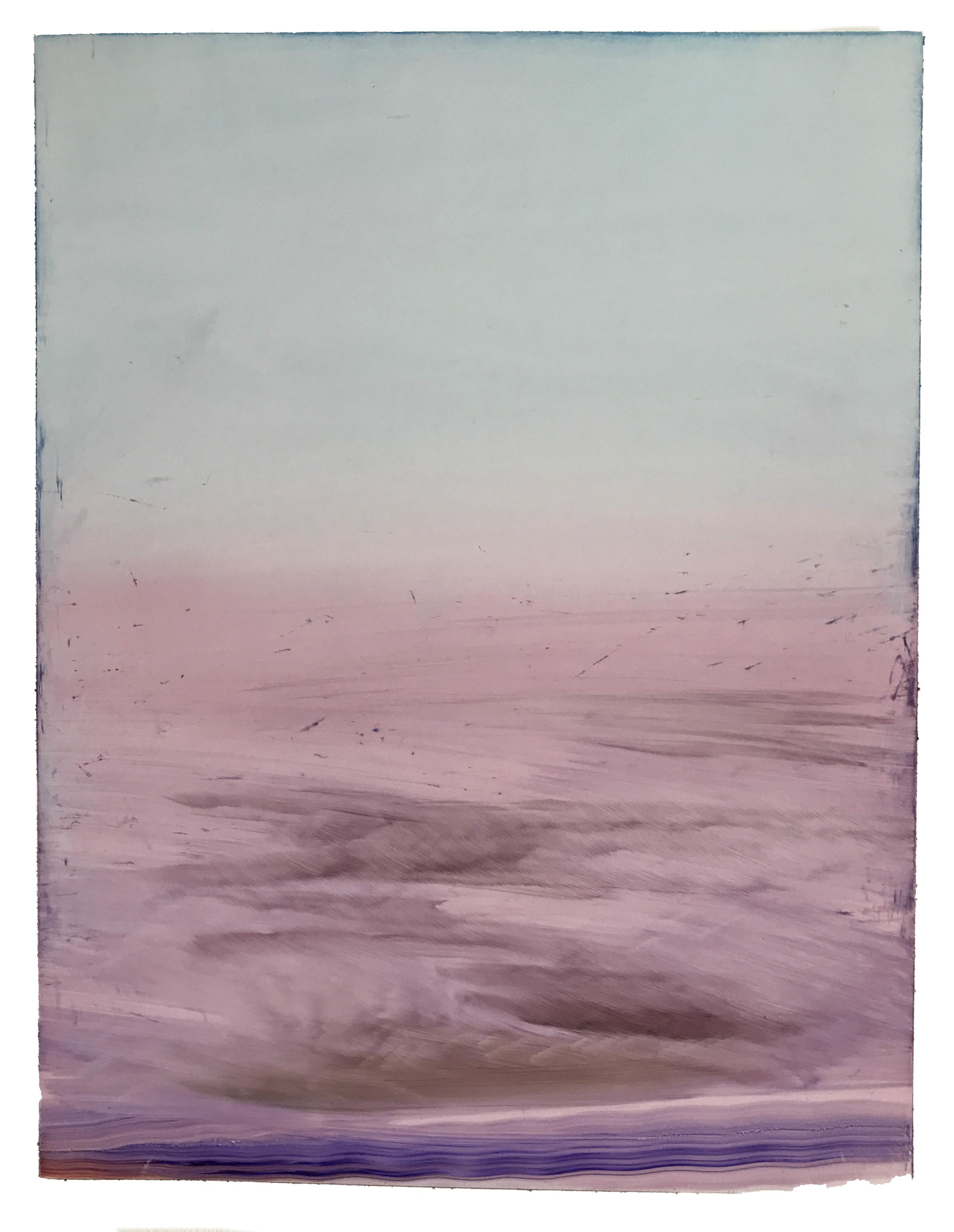 "O.T. (no.66), 11"" x 14"", oil on paper, 2018"