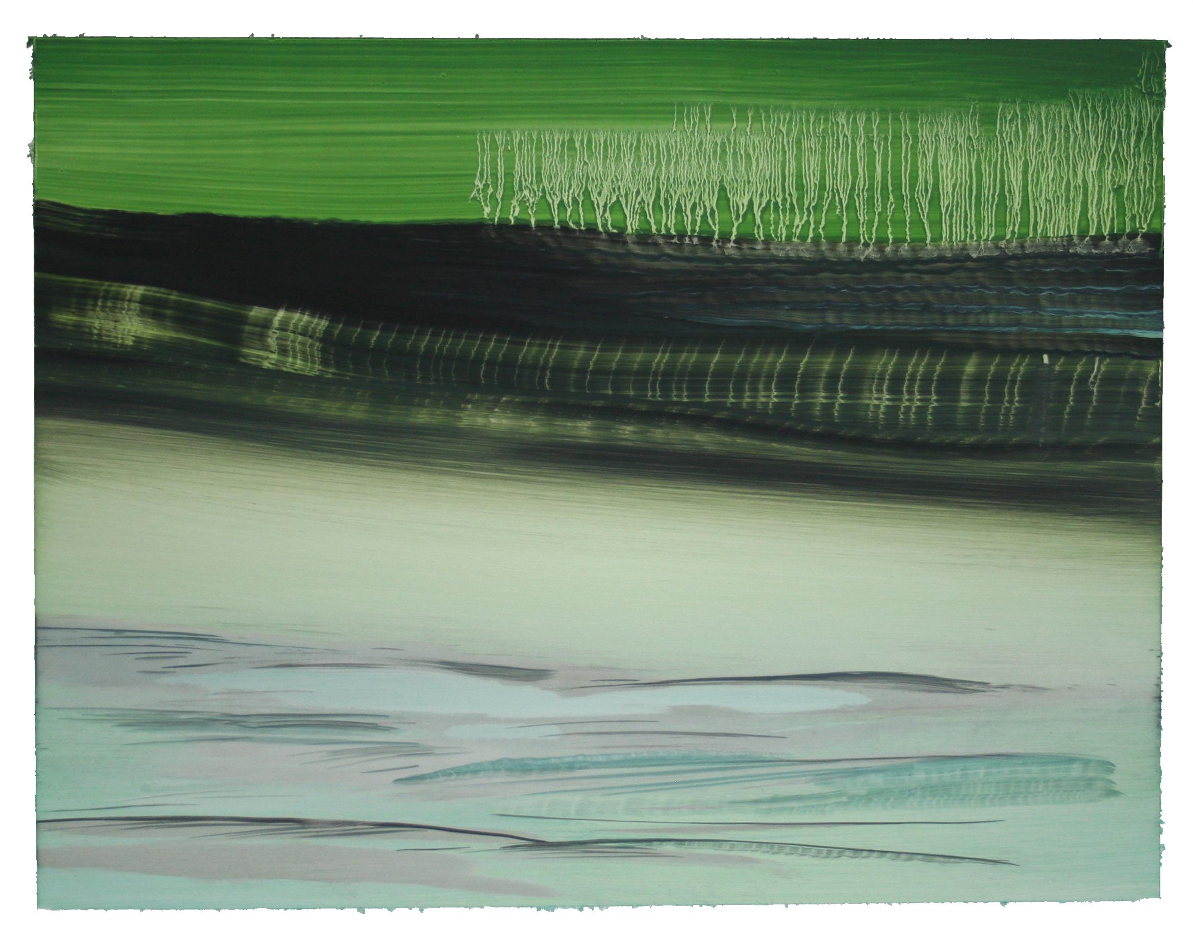 "O.T. (no.59), 11"" x 14"", oil on paper, 2017"