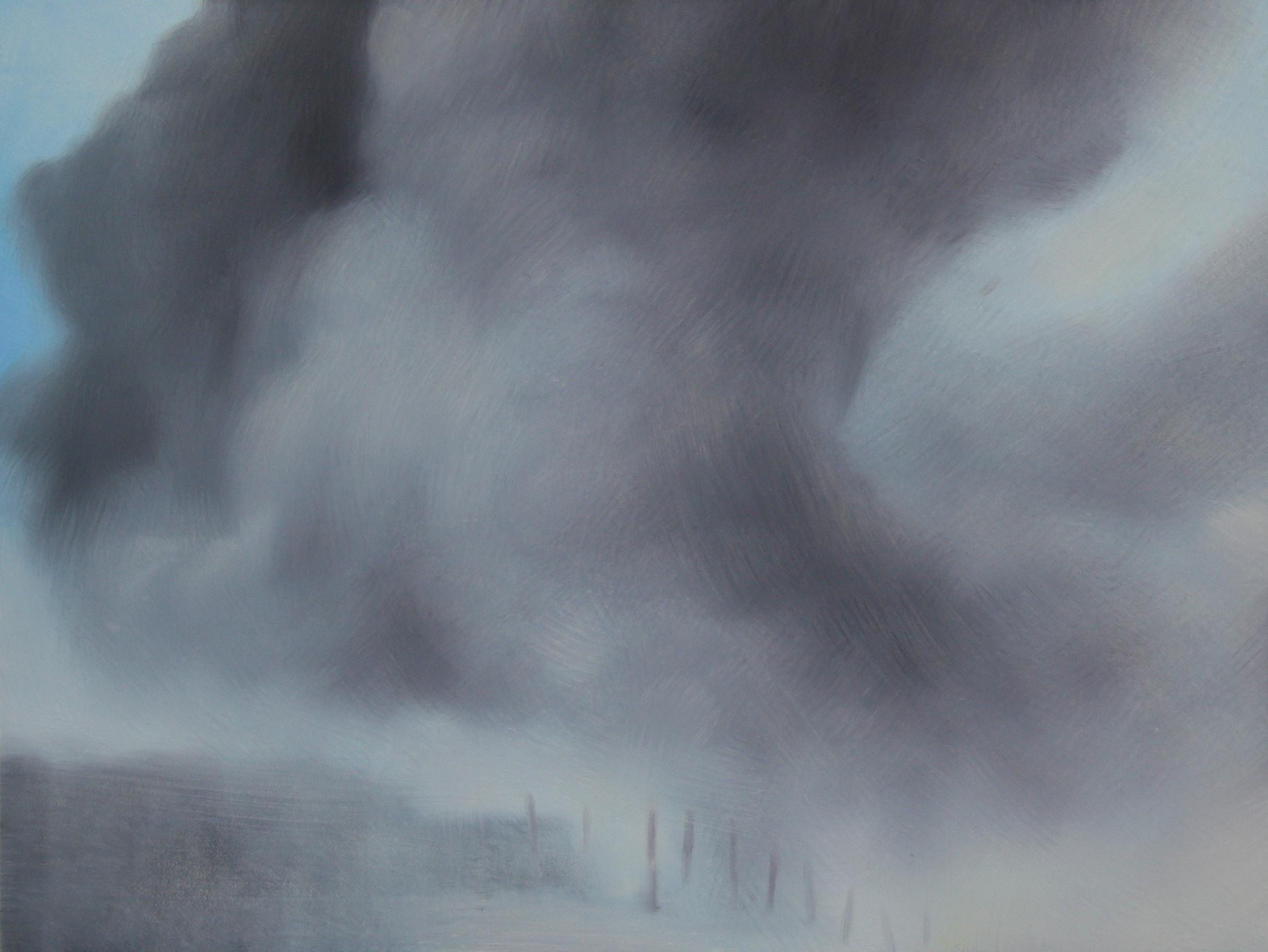 "Takhar Province (Afghanistan), 11"" x 14"", oil on panel, 2014"