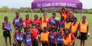 Beagle Bay Touch Carnival Between Christ the King and Sacred Heart Schools